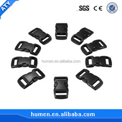Custom variety color side release plastic buckles for strap