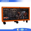 stainless steel tool box trolley tool box suitcase electrical tool box