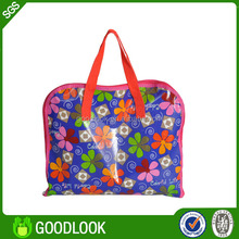 factory price no pollution non-woven tote bag with zipper for promotion
