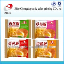 Wholesale china manufacture plastic packaging pouch for cake