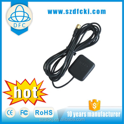 Good level quality universal for auto 1575.42MHz and 27dBi high gain and 3m(RG-174U)cable auto tv gps antennas used for Honda
