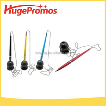 Promotional Pen with Stand Half Metal Chain Pen