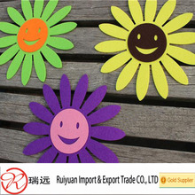 Alibaba China supplier 2014 new products felt die cut flower
