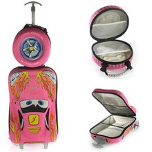 Cool 3D Car Sharp EVA Kid's Trolley Luggage/Children Luggage Case/Kids Trolley School bag and Handbag
