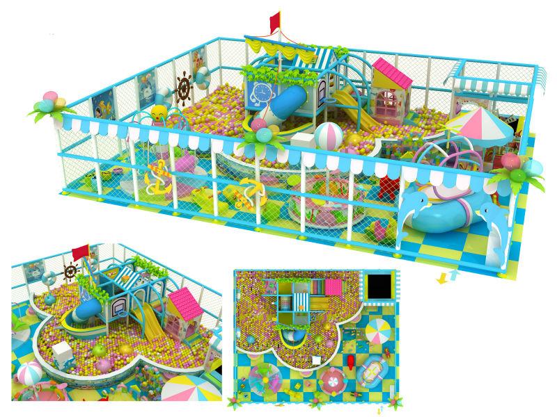 2014 summer series kids indoor playground equipment indoor soft playground equipment naughty castle children games