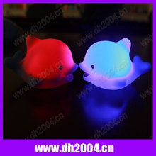 Plastic bath dolphin for promotional goods