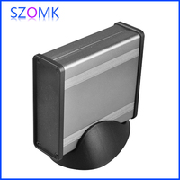 high grade aluminum metal boxes extruded aluminium with wall mount and heat sink for electronic