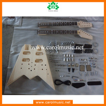 GK069 Double neck diy electric guitar kit