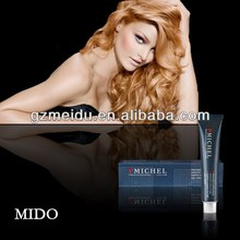 China MIDO Cosmetics Professional Hair Care Salon Hair Dye Facotory Hair Dye Product For Shinyhair smart color kit 51 color