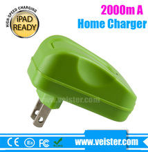 High quality US Wall Charger,5v 2 a Home Travel Wall, AC Power Charger Adapter for iPad / Samsung Galaxy S5 S4 S3 / tablet pc /