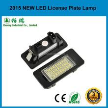 LED License plate lamp for BMW E90 E91 E92 E93
