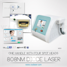 808nm Diode laser for pernmanet removing hair,best function for hair removal