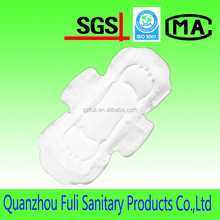 Dry Woven Surface In Sanitary Napkin with High Absorbency,female disposable sanitary towel