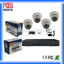 New Color Package Network Function 4CH CCTV System