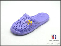 Women Lady Indoor Sandals Home Flats Shoes Shower Slip On Slipper
