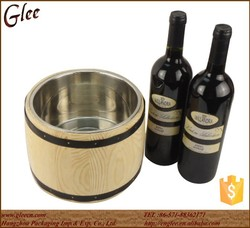 Factory Price Wooden Beer Ice Buckets/Food Container for Sale