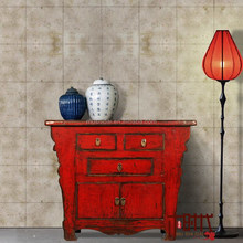[MSD] Butterfly cabinet Chinese antique red cabinet classical furniture painted buffet High gloss furniture Altar Cabinet