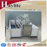 galvanised farrowing crate steel pig crate for sale