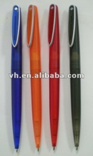 2012 spring new design cheap plastic small ball pen