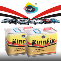 KINGFIX Brand easy to apply toyota silver car paint