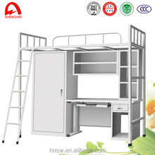 Professional twin over full bunk bed with low price