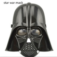 384pcs/lot Star Wars Masks Clone trooper and Darth Vader mask PVC mask for Halloween Party
