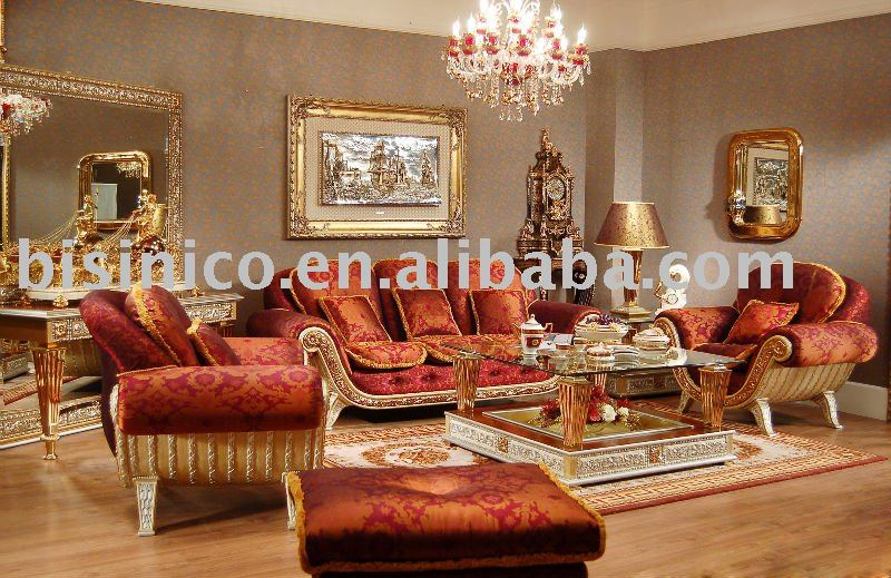 Luxury Classical Wooden Living Room Sofa Set MOQ 1SET B23550 View Lux