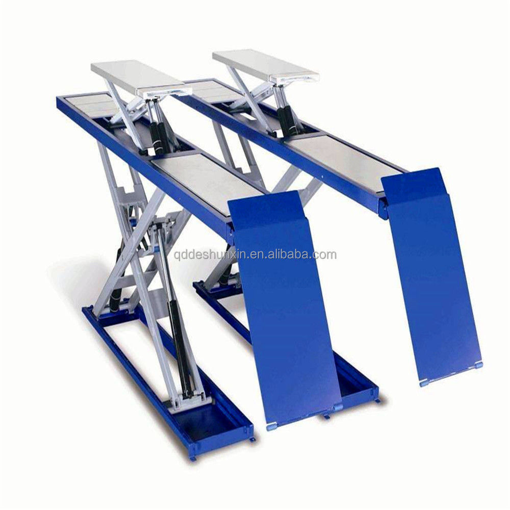 Qingdao used car lift for sale bare lifts scissor lift for Motor lift for sale