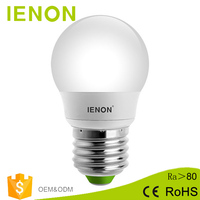IENON 3000-3200K warm white glass casing cup led bulb 15w