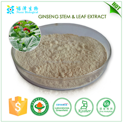 made in china beauty products red ginseng extract ginsenosides 7% HPLC