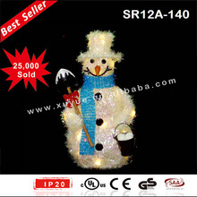 Battery operated Snowman Christmas home decoration items