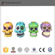 hot sell resin halloween ornament artificial skull