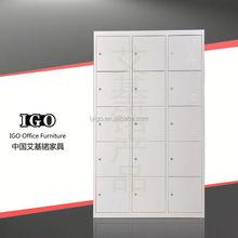 IGO-028 Durable Durable and Elegant metal z shape gym locker