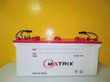 Dry Charged 150AH Car 12V Battery with high quality
