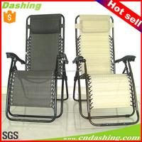 Folding recliner zero gravity chair, deck chair, sun lounger zero gravity chair
