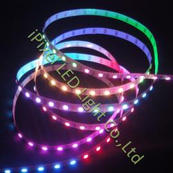 60leds/m multicolor 5050rgb smd pixel led light (WS2812b )