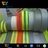 EN471 high visible sew on work shirts light reflective tape for firefighter