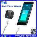 ROCK Turbo Tank US Plug Mobile Phone Cargador de Pared, Qualcomm Carga Rápido 2.0 USB Viaje Cargador GPE162-Z (RWC0201)