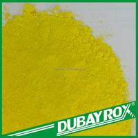 Lemon Chrome Yellow Chrome Pigment Inorganic Pigment Powder