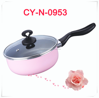 good price pot with bakelite handle induction compatible hot pink mini milk pot cookware