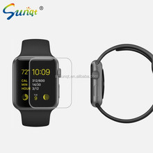 2015 new product 5-6H hardness ultra clear anti shock matte tempered glass screen protector for smart Watch 38mm/42mm