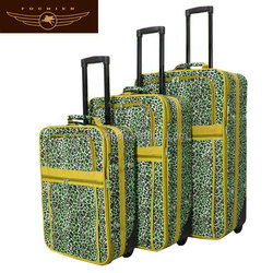 size 20 24 28 luggage plastic luggage with extend layer