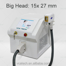 large handle, 808nm diode laser permanent hair removal / big spot size
