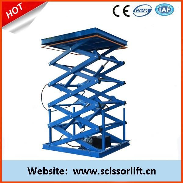 Scissor Lift Mechanism Design : Hydraulic mini lift table small scissor mechanism