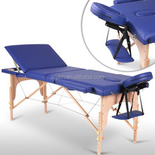 2015 NEW fixed massage wooden massage table folding single table
