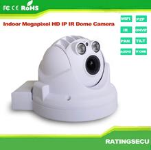 Mini ip camera hd 1080p ir night vision dome ip remote rotate pan tilt security camera