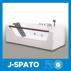 2015 Fabricante de China barato masaje bañera con función de radio FM for JS-8007