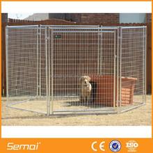 Heavy duty welded metal dog cage