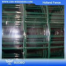 Hot Sale!!!Dark Green PVC Coated Waving Euro Wire Mesh Holland Fence Netting(factory)