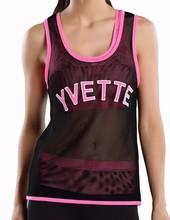 Yvette 8046 Women All Mesh Singlet Tank Top / Anti-Bacterial Running Vest
